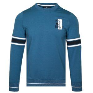 Psycho Bunny Dovedale Sweatshirt Batik Blue-6