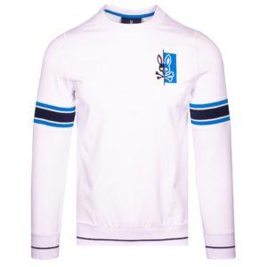Psycho Bunny Dovedale Sweatshirt White-6