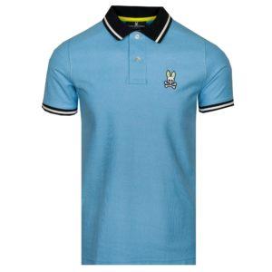 Psycho Bunny Precott Polo Shirt Lapis Blue-6